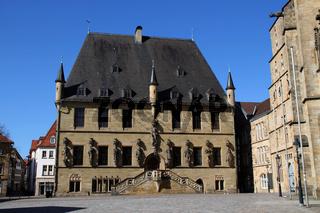 Das Rathaus in Osnabrück