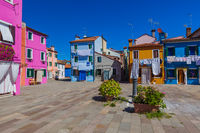 Burano village - Venice Italy