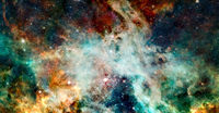 Hubble image. Elements of this image furnished by NASA
