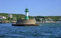 Island Ruegen Sassnitz Harbour