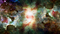 Endless universe, science fiction image. Elements of this image furnished by NASA