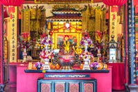 Temple of the Teochew Chinese, the Hiang Thian Siang Ti Temple in Kuching on Borneo