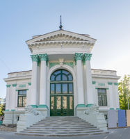 Chisinau Organ Hall - a leading cultural and artistic institution in Chisinau, Republic of Moldova. The Organ Hall landmark historic building in Chisinau, Moldova