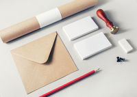Photo of blank stationery