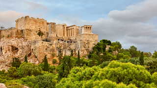 Acropolis in Athens in Greece