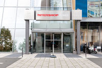 Intershop Tower Haupteingang