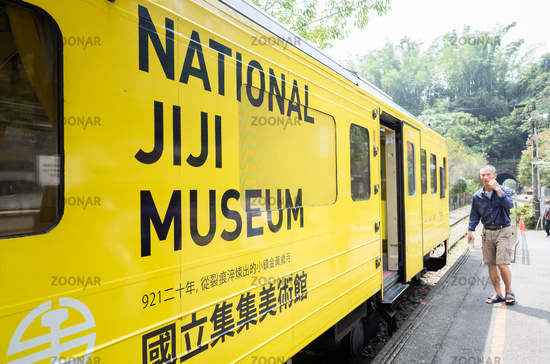 exterior of Taiwan's first mobile museum