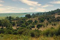 Chobe river landscape, Botswana Africa