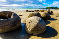 The mysterious huge round boulders