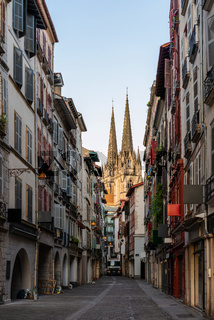 The Cathedral of Saint Mary of Bayonne in France