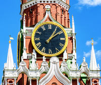 Chimes of the Spasskaya tower of the Moscow Kremlin