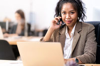 African Call center for telemarketing and sale concepy