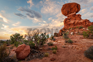 Landscape View from Arches National Park, Utah, USA