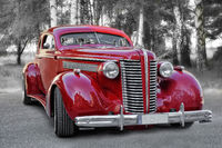 the red Hotrod