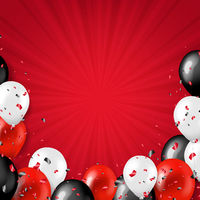 Black Friday Border With Balloons