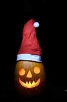 Halloween pumpkin Christmas design