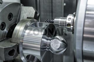 Drehbank, CNC-Fräse Lathe, CNC milling