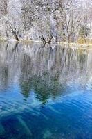 Vivid Winter Waters