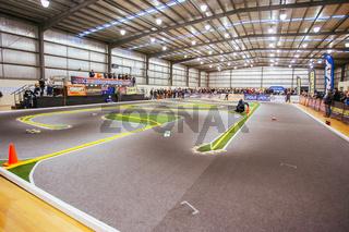 Indoor RC Car Race in Melbourne Australia