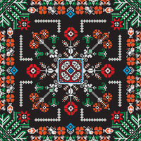 Romanian traditional pattern 197
