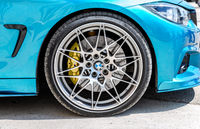 BMW wheel with Michelin tubeless low profile tire