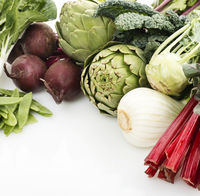 Assortment Of Raw Fresh Vegetables