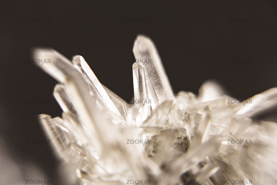Rock crystal detail background
