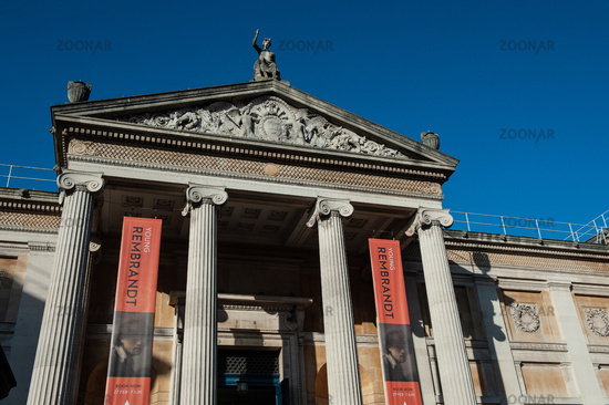 The Ashmolean Museum, Oxford, England