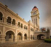 Sultan Abdul Samad Building at Merdeka square, Kuala Lumpur, Malaysia