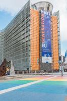 Le Berlaymont, European Commission