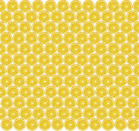 Texture of sliced orange slices on yellow background. Cut pieces of orange. Healthy lifestyle.