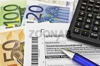 Gewerbesteuererklärung Finanzamt Deutschland