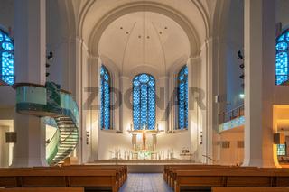 Church Saint John, Dusseldorf, Germany
