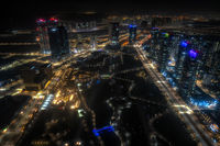 Songdo Central Park at Night