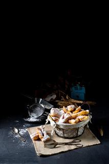 Raderkkuchen is a traditional Polish lard pastry.
