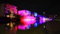 Essen/Germany: 2020-Oct-11: Essen Light Festival (editorial)
