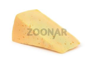 Piece of semi hard cheese