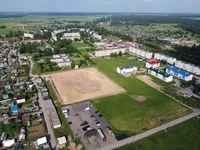 Begunitcy, Leningrad Region, Russia. Aerial photo