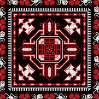 Romanian traditional pattern 223