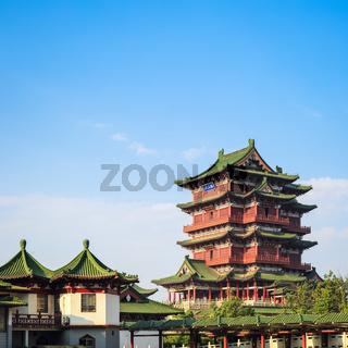 nanchang tengwang pavilion closeup