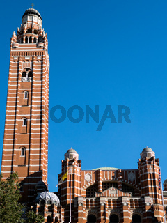 View of the Tower at Westminster Cathedral
