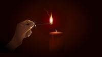 light a candle for someone