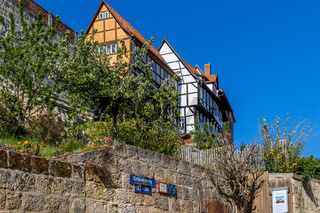 Bilder aus dem historischen Quedlinburg Münzenberg