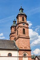 Parish church St. Jakobus in Miltenberg, Lower Franconia in Bavaria