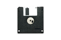 Old Black Diskette