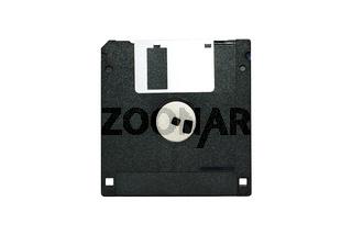 Old Black Diskette
