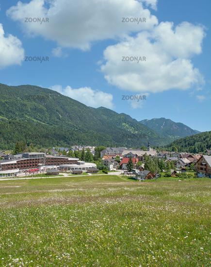 Kranjska Gora in Triglav National Park,Slovenia