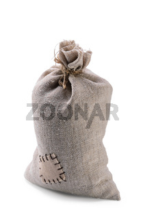 bag coarse fabric with botch