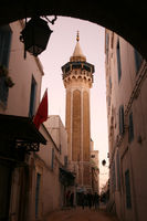 TUNISIA TUNIS CITY MEDINA YOUSSEF DEY MOSQUE