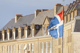 Saint Malo Flagge